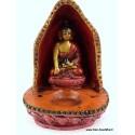 Brûleur d'encens tibétain en terre cuite BETB2