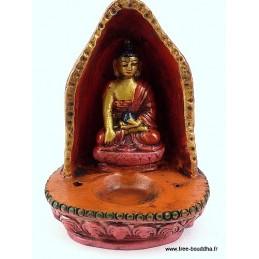 Brûleur d'encens tibétain en terre cuite