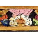 Brûle encens tibétain en bois ref4000.3