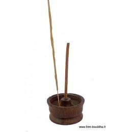 Porte-encens Lotus en bois PEL1
