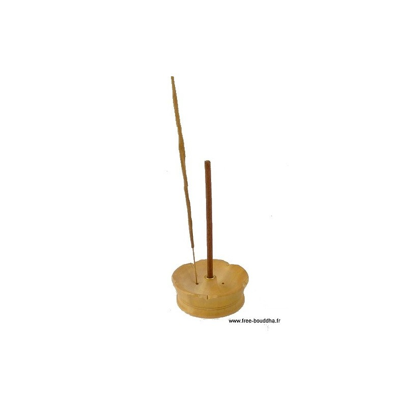 Porte-encens Lotus en bois PEL2