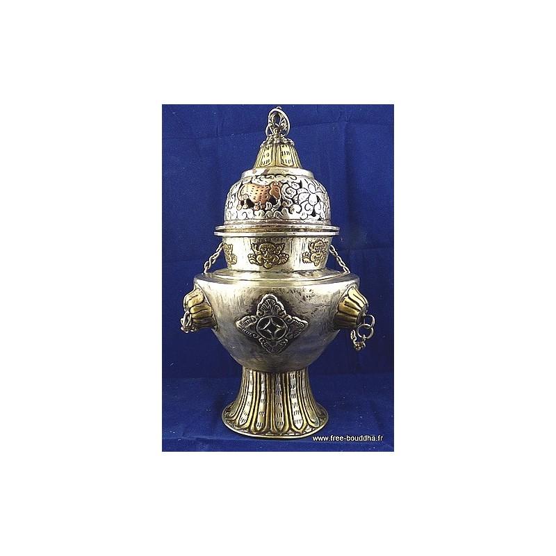 Gros encensoir tibétain de cérémonie ref 86.1