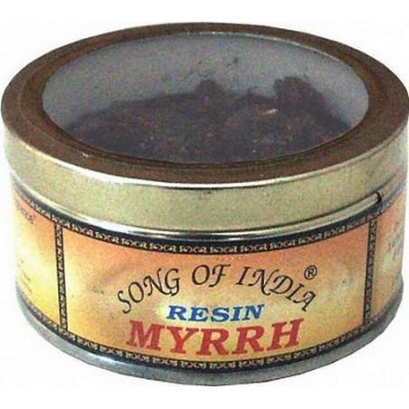 Encens résine Myrrh