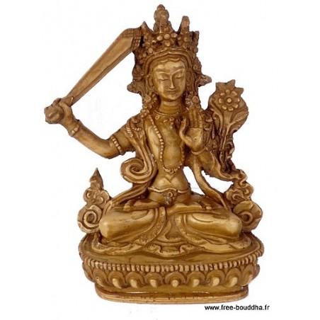 Statuette Manjushri grand modèle