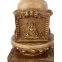 Stupa bouddhiste en résine naturelle STUPAN3