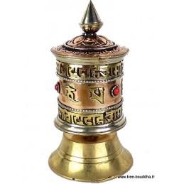 Petit moulin à prières Mantra de Chenrezi PMAP4