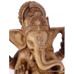 Statuette Ganesh en résine Statuettes Bouddhistes STAGAN1