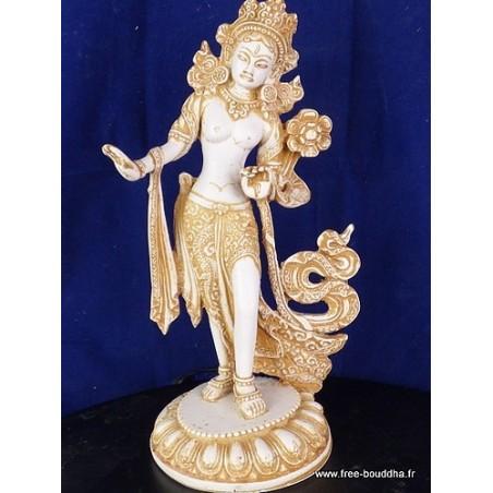 Statuette Tara Blanche 30 cm