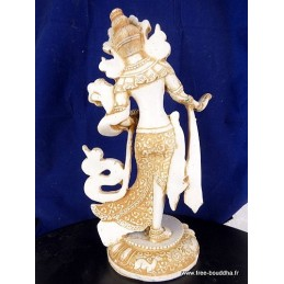 Statuette Tara Blanche 30 cm Objets rituels bouddhistes STATB2