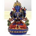 Statuette bouddhiste CHENREZI STACH1