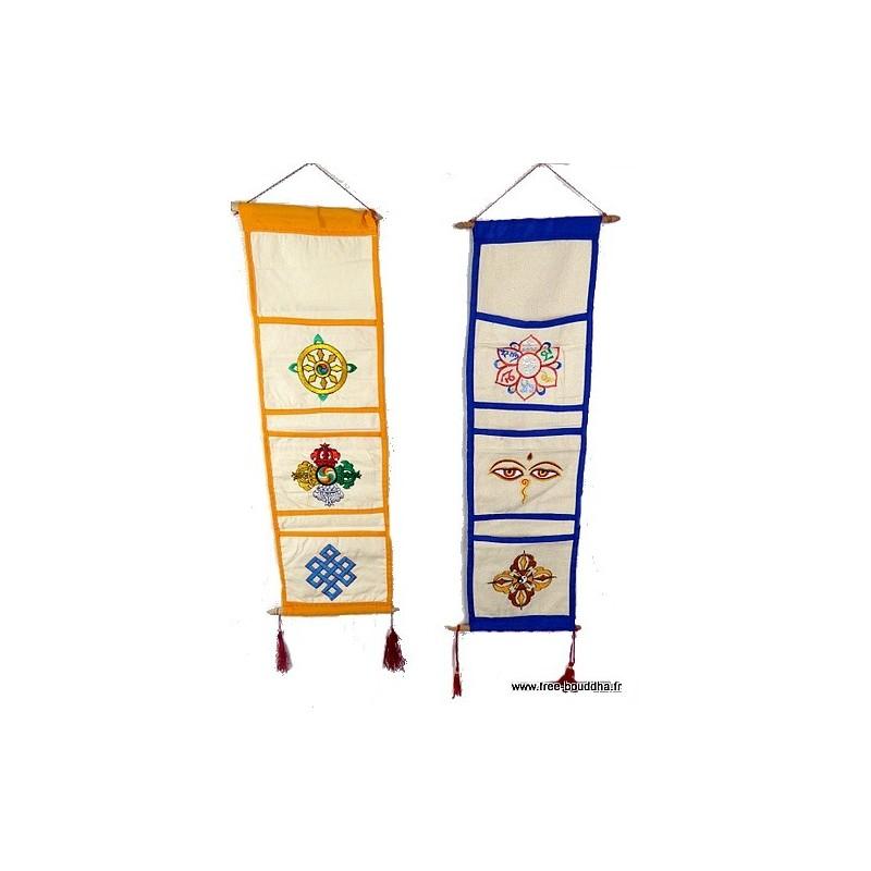 Porte courrier ou vide-poche bouddhiste ten cou