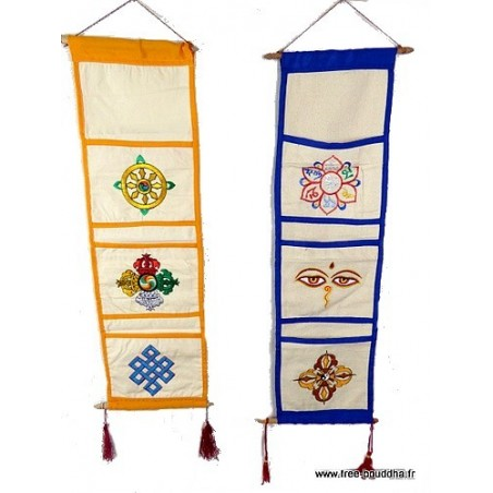 Porte courrier ou vide-poche bouddhiste