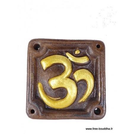 Porte encens  tibétain en plâtre