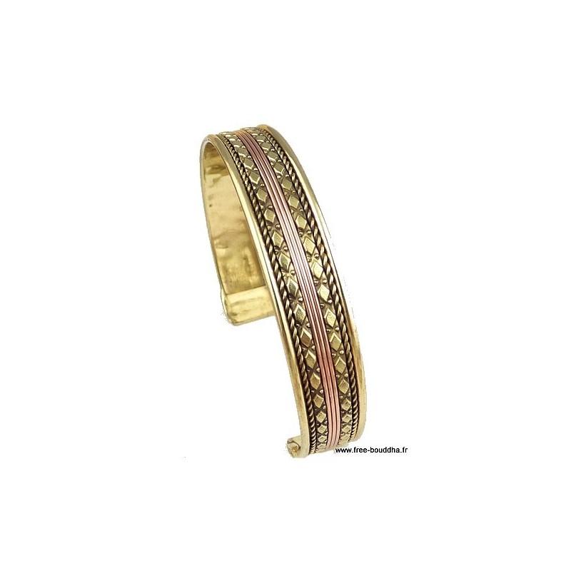 Bracelet indien Métal et Cuivre BRAC202