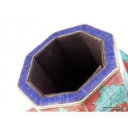 Porte-encens, porte-stylos tibétain NMAP16