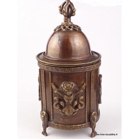 Porte encens original pour encens poudre et résine