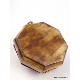 Boîte à bijoux népalaise en Os de Buffle BAT67