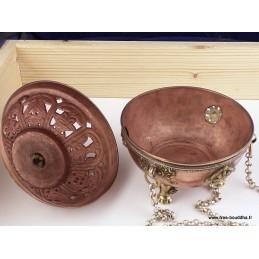 Encensoir bouddhiste forme sphérique 6150.1