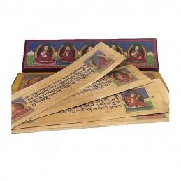 Livre de moine bouddhiste 28 cm