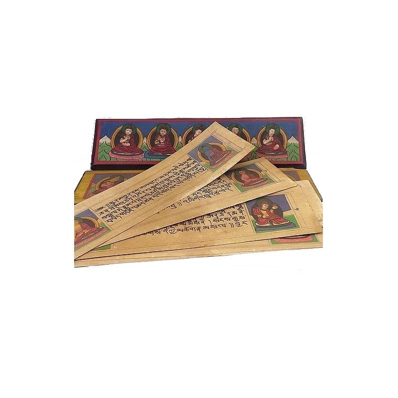 Livre de moine bouddhiste 28 cm ref 3794