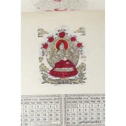 Calendrier Tibétain 2019 Yeux de Bouddha CAL2
