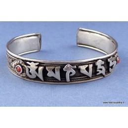 Bracelet Tibétain filigrane Mantra de Chenrezi NBR4