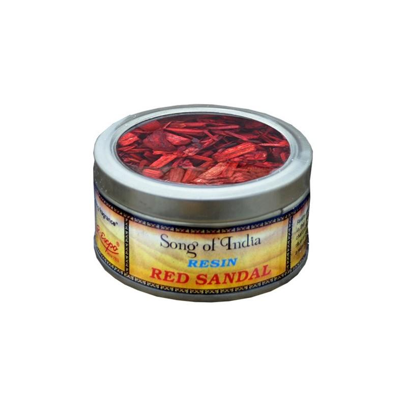 Encens copeaux de Bois de Santal rouge SANTALR
