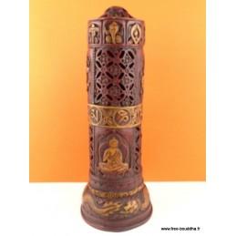 Porte encens bouddhiste en résine BBRE4