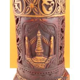 Porte encens bouddhiste en résine BBRE5