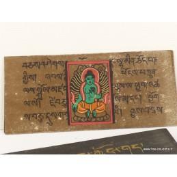 Livre de moine bouddhiste 16,5 cm ref 3794.1
