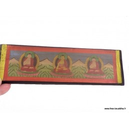 Livre de prières bouddhiste 24 cm ref 3794.2