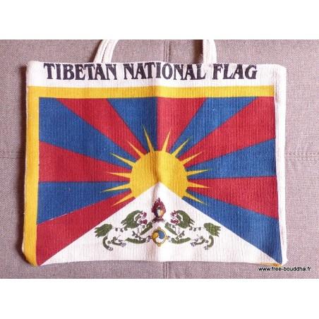 Sac tibétain Drapeau du Tibet