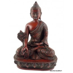 Statuette rouge Bouddha STARB