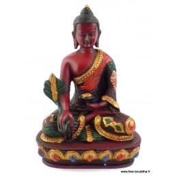 Statuette Bouddha peinte à la main ref STV5