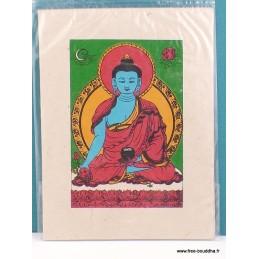 Carte postale Bouddha de Médecine CPT5