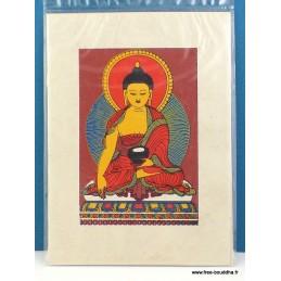 Carte postale Bouddha Sakyamouni CPT7