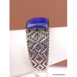 Bague pour HOMME mixte LAPIS LAZULI T 59 A 71 Bijoux en Lapis-lazuli KB22