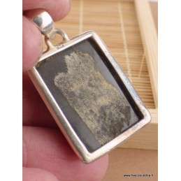 Pendentif Jaspe Bourdon jaune noir Pendentifs pierres naturelles DA60