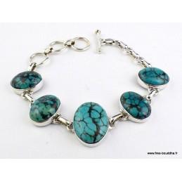 Bracelet en Turquoise du Tibet Bracelets pierres naturelles WL55.14