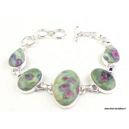 Bracelet en Rubis sur Fuchsite Bracelets pierres naturelles WL55.16