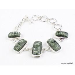 Bracelet en pierre Séraphinite Bracelets pierres naturelles WL55.21