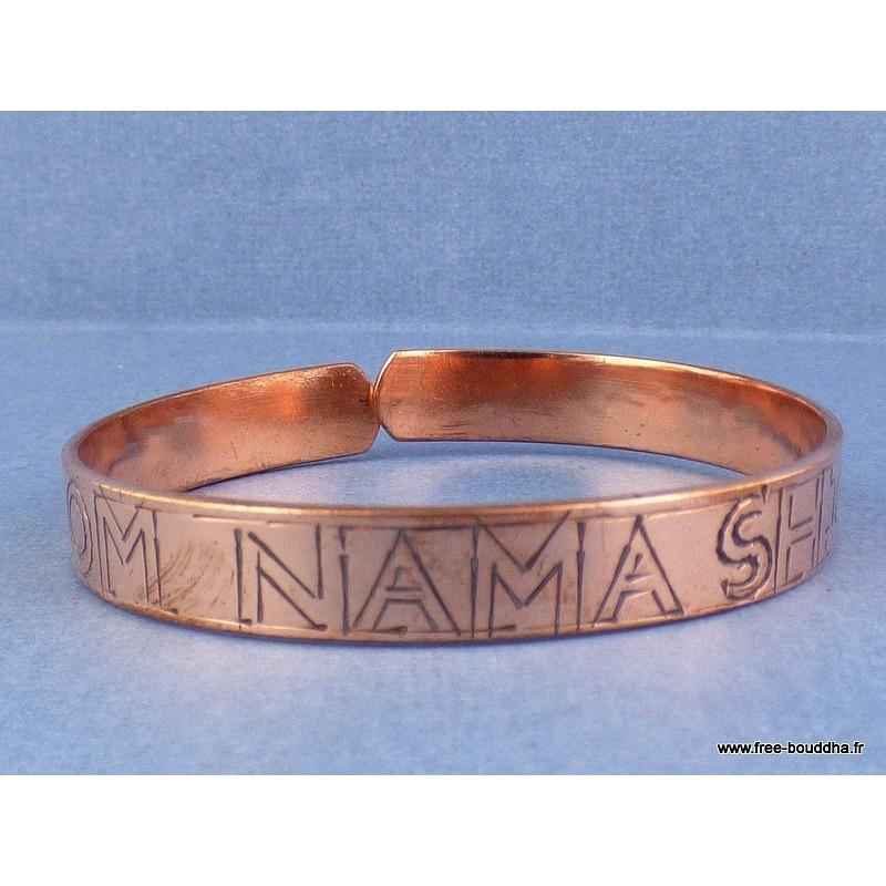 Bracelet tibétain OM NAMA SHIVAYA Bijoux tibetains bouddhistes  ref100
