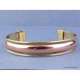 Bijou bracelet tibétain Cuivre et métal Bijoux tibetains bouddhistes  AA51.8