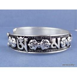 Bracelet tibétain bouddhiste Mantras et Dorjés Bijoux tibetains bouddhistes  BRAC201