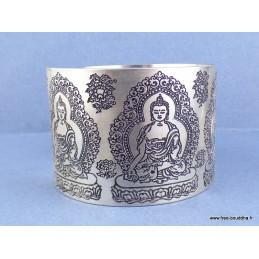 Bracelet tibétain 5 BOUDDHAS Bijoux tibetains bouddhistes  NBT1