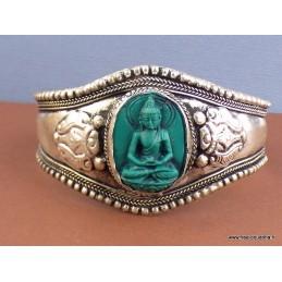 Bracelet tibétain Bouddha en méditation Bijoux tibetains bouddhistes  BUDRES1