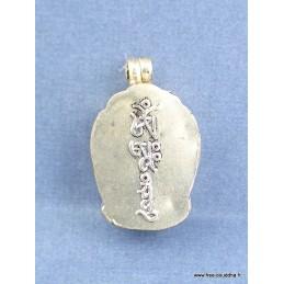 Pendentif KALACHAKRA GAO Bijoux tibetains bouddhistes  BHP27