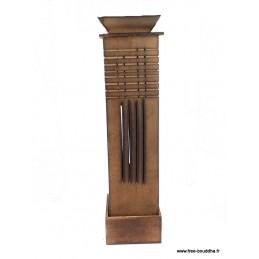 Porte encens Tour en bois (cône et bâtonnet) PETOUR