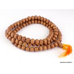 Mala de prières 108 perles en Bois de Santal BM32