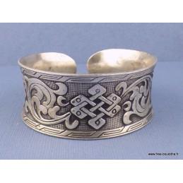 Bracelet tibétain Noeud sans fin Bijoux tibetains bouddhistes  ref 02.10